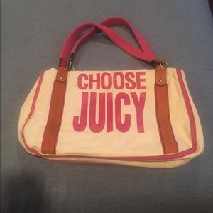 Choose Juicy Couture Tote Bag